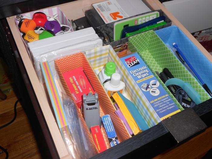 desk drawer - after