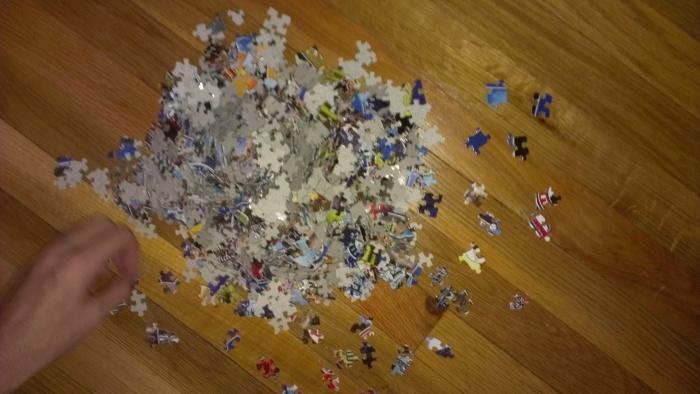 puzzle beginning