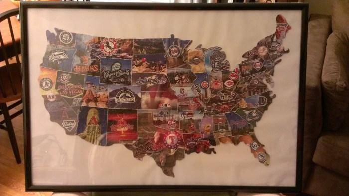 puzzle framed