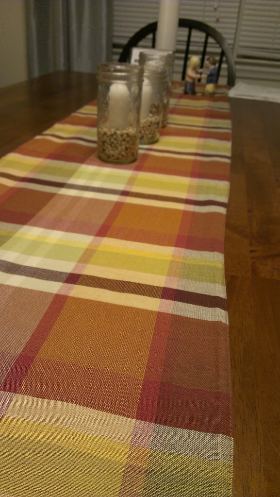 fall table runner