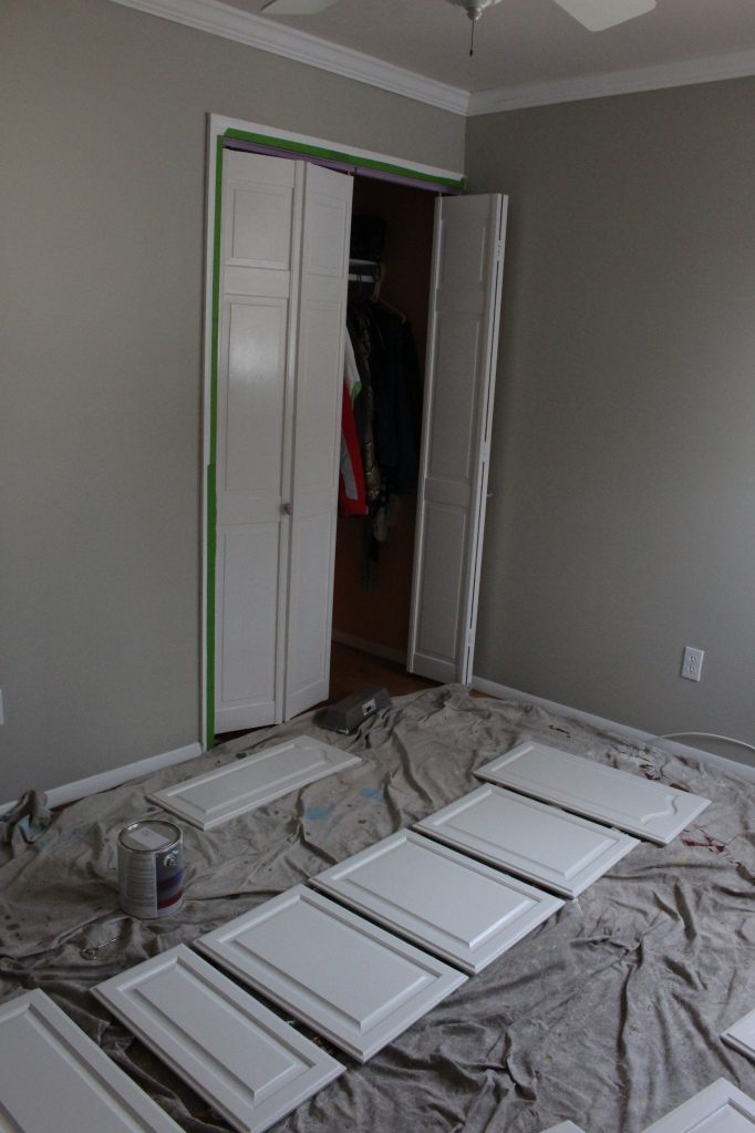8 days later -2nd bedroom